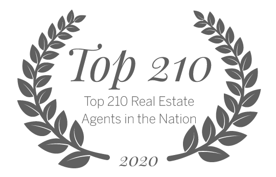 Top 210 Real Estate Agents Nationwide